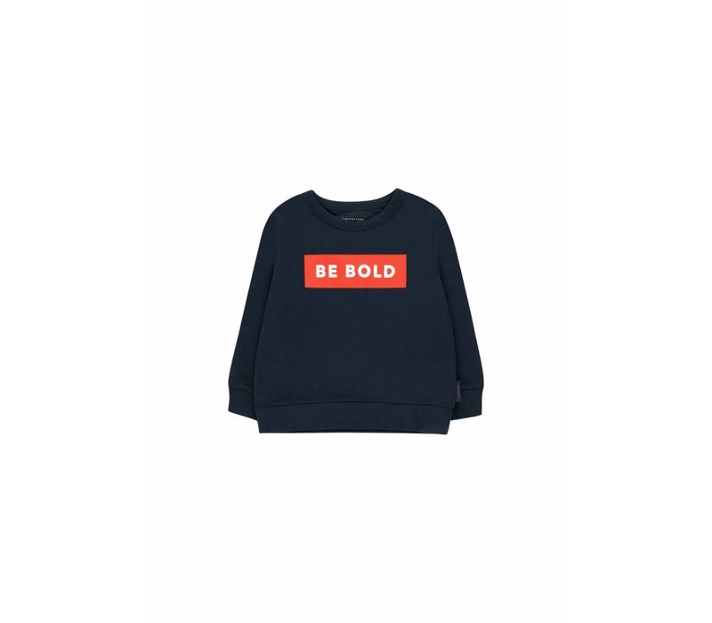 Be Bold Sweatshirt Navy/Red