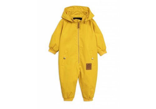 Mini Rodini Pico Baby Overall Yellow
