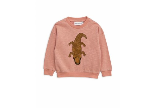Mini Rodini Crocco Sp Sweatshirt Pink