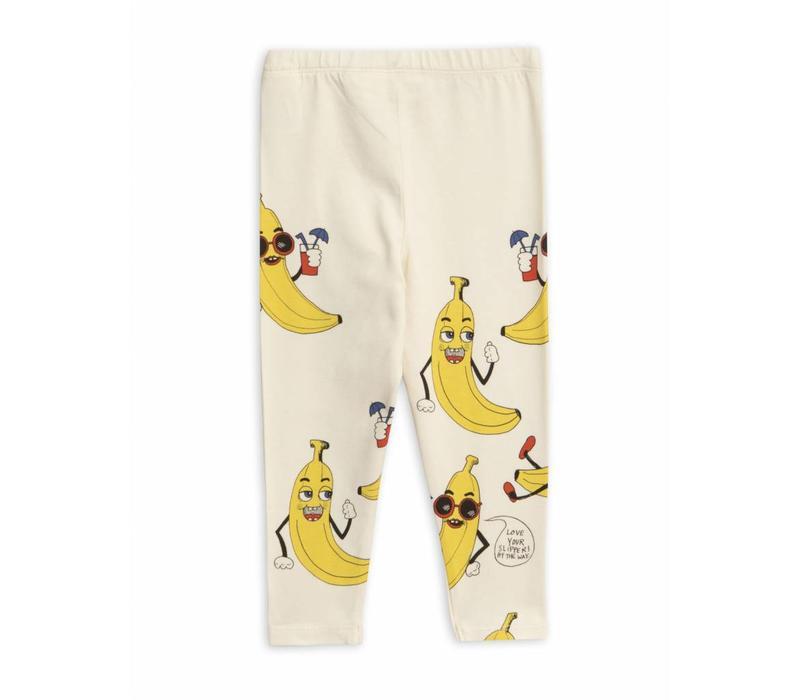 Banana Aop Leggings Offwhite