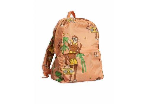 Mini Rodini Cool Monkey Light Weight Backpack Pink
