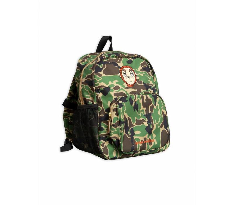 Camo School Bag Green