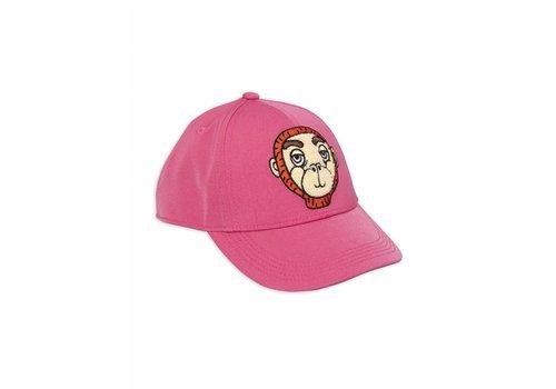 Mini Rodini Monkey Cap Pink