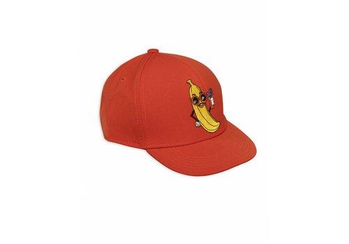 Mini Rodini Banana Trucker Cap Red