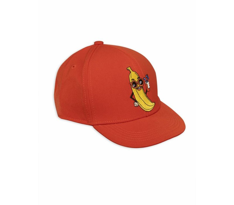 Banana Trucker Cap Red