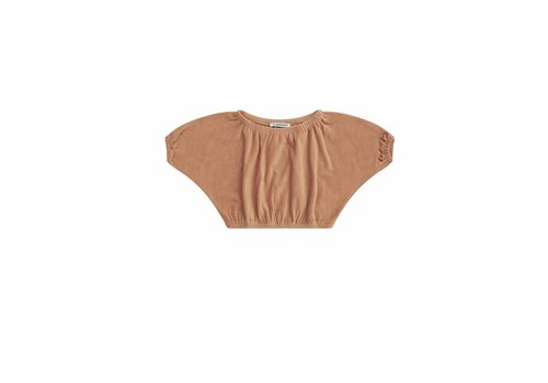 MINGO cropped-top-toasted-nut