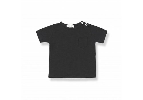 1 + More in the Family DOMENICO s.sleeve t-shirt black