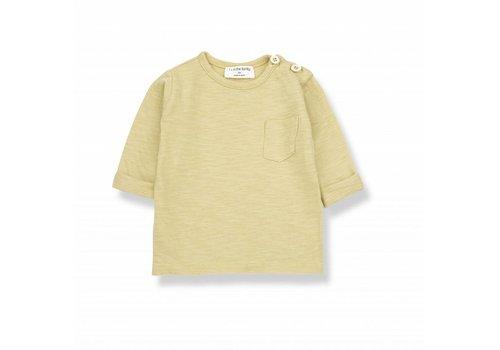 1 + More in the Family JOHN long sleeve t-shirt raffia