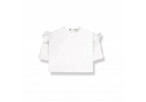 1 + More in the Family NATZA long sleeve t-shirt off-white