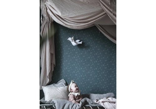 Sandberg Wallpaper Wallpaper Bianca Green // Kubel Kids