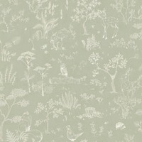 Wallpaper Hollie Green // Kubel Kids