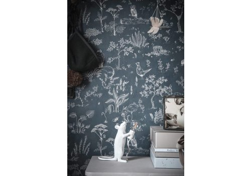 Sandberg Wallpaper Wallpaper Hollie Green Turquoise/Blue  // Kubel Kids
