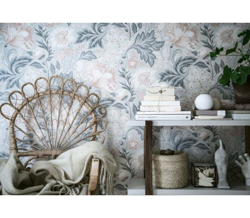 Wallpaper Ava Grey/Black // Kubel Kids