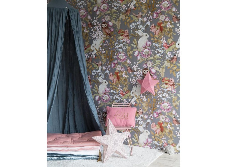 Wallpaper Woodlands Dark Lavender