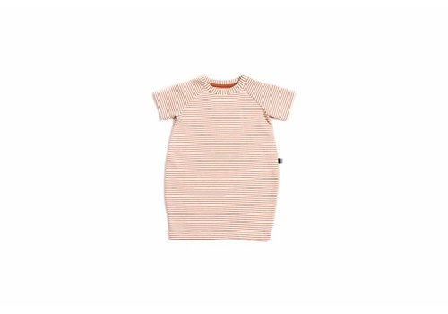 Monkind Red Stripe T-Shirt Dress