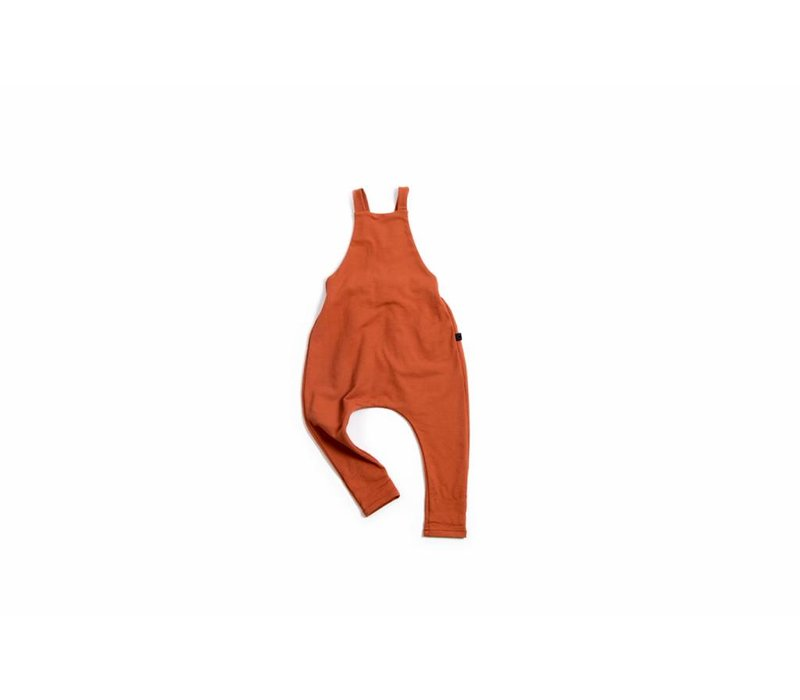 Brick Red Dungarees