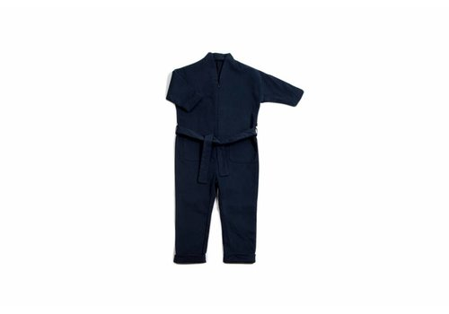 Monkind Indigo Painter's Overall