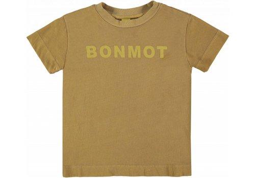 Bonmot organic TEE PRINT B0NMOT // MUSTARD