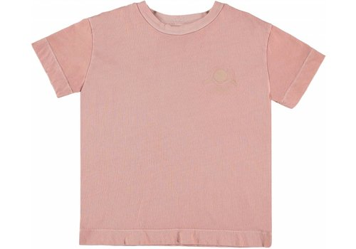 Bonmot organic TEE PRINT NEW WORLD // VINTAGE ROSE