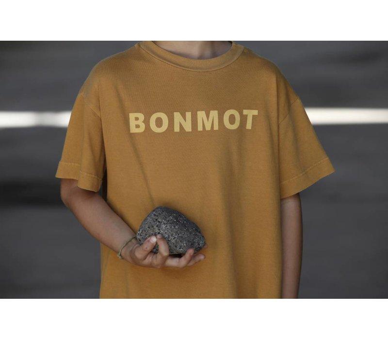 TEE PRINT B0NMOT // MUSTARD