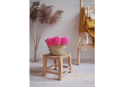 Louise Misha Basket Tonga Fluo Pink