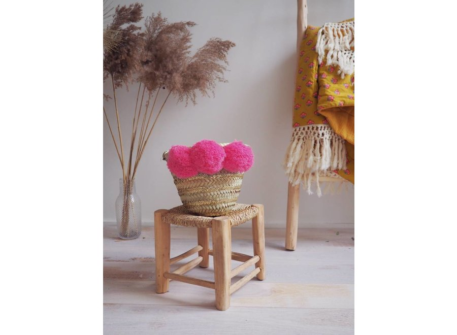 Basket Tonga Fluo Pink