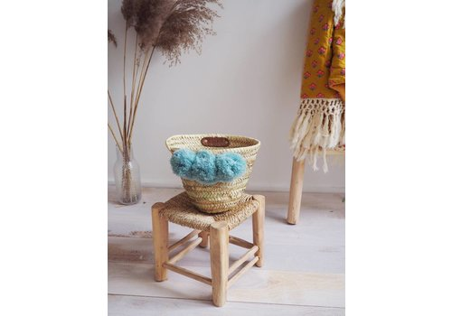 Louise Misha Basket Tonga Almond