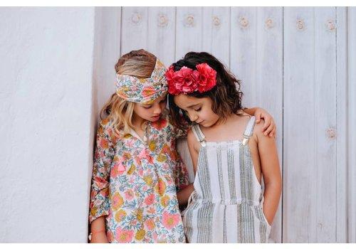 Louise Misha Headband Eden Multi Flowers