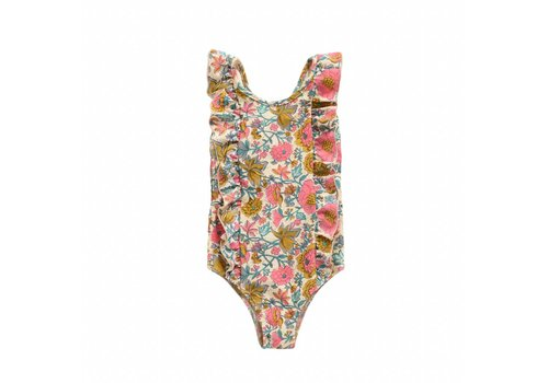 Louise Misha Bathing Suit Bermude Multi Flowers