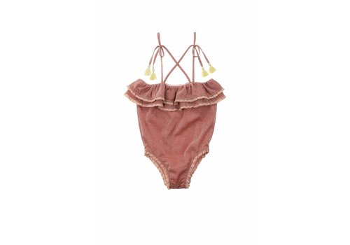 Louise Misha Bathing Suit Creole Rusty