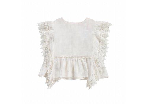 Louise Misha Top Caiques White