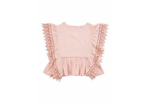 Louise Misha Top Caiques Blush