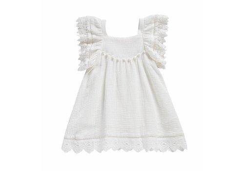 Louise Misha Dress Grenadine White