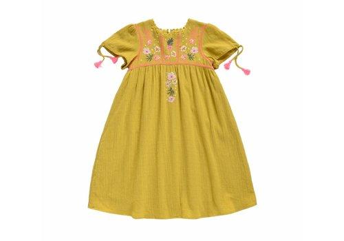 Louise Misha Dress Coconut Safran