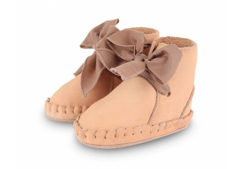 Donsje Pina Organza Powder Nubuck+Mocha Cotton
