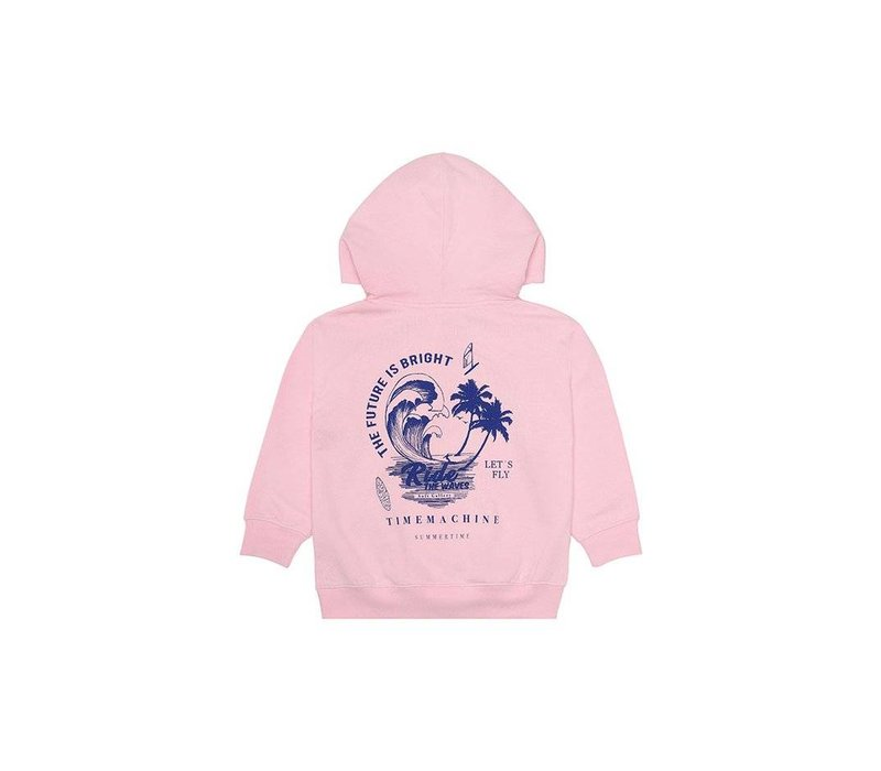 Bowie Hoodie Parfait Pink, Waverider
