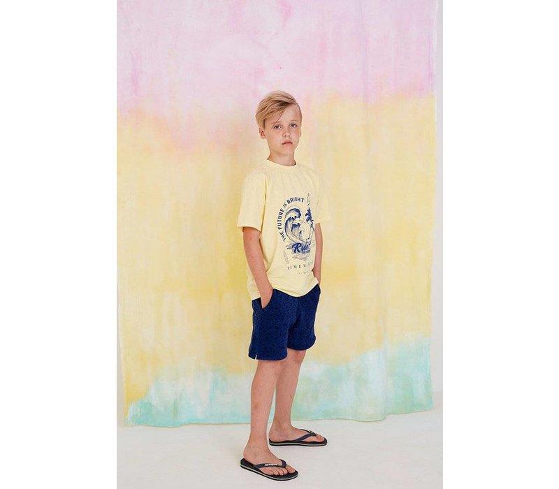 Asger T-shirt French Vanilla, Ride