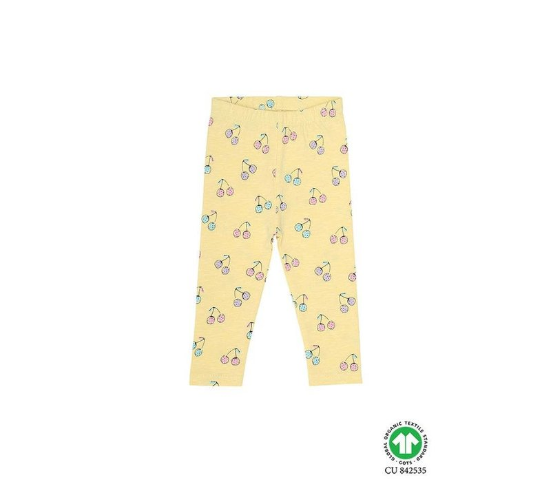 Baby Paula Leggings French Vanilla, AOP Cherish
