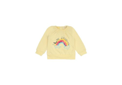 Soft Gallery Annabel Sweatshirt French Vanilla, Rainbow Emb.
