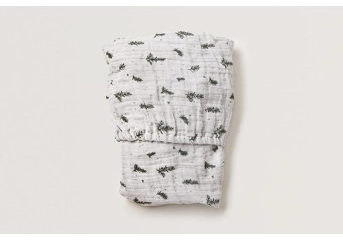 Garbo & Friends Rosemary Muslin Junior Fitted Sheet