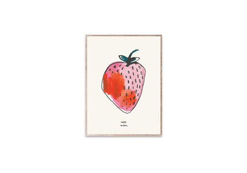 Soft Gallery MADO X SOFT GALLERY SMALL POSTER // Strawberry
