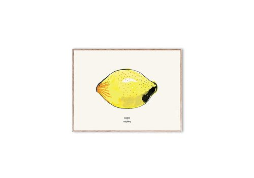 Soft Gallery MADO X SOFT GALLERY SMALL POSTER // Lemon