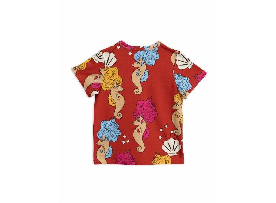 Seahorse Ss Tee Red