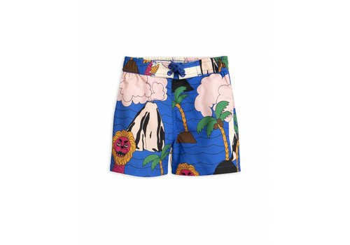Mini Rodini Seamonster Swimshorts Multi