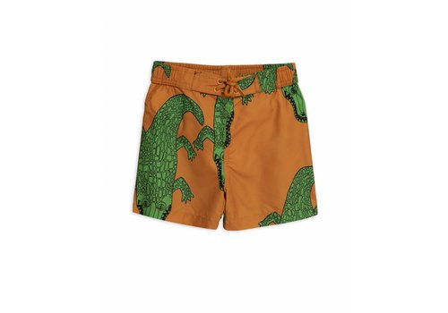 Mini Rodini Crocco Swimshorts Brown
