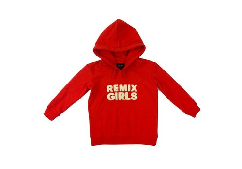 Little Remix LR Logan Hoodie, Lipstick Red