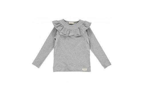 MarMar Copenhagen Tessie, Jersey, Shirts/Tops, Kids Girl,, Grey Melange