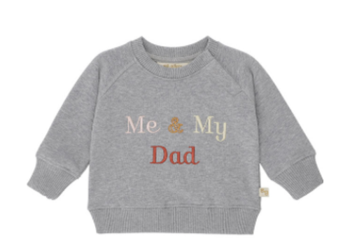 Soft Gallery Alexi Sweatshirt Grey Melange, My Dad