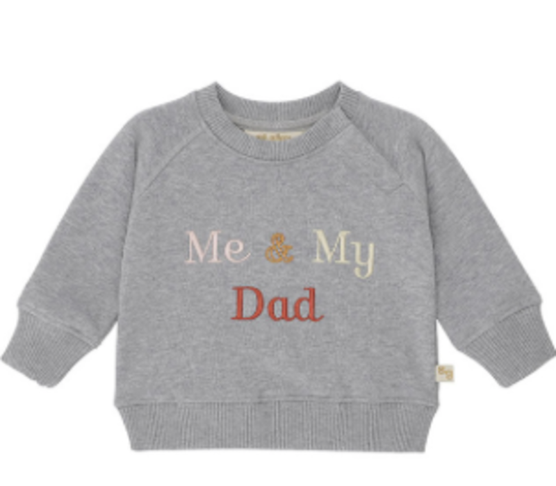 Alexi Sweatshirt Grey Melange, My Dad