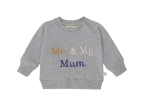 Soft Gallery Alexi Sweatshirt Grey Melange, My Mum